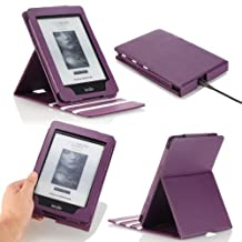 Kindle Paperwhite Case, MoKo Premium Vertical Flip Cover with Auto Wake / Sleep for Amazon All-New Kindle Paperwhite (Fits All 2012, 2013, 2015 and 2016 Versions), Purple