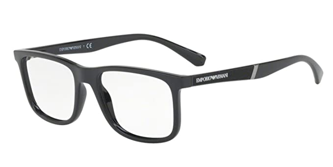 1a93d2bf9964 Image Unavailable. Image not available for. Color  Eyeglasses Emporio Armani  EA 3112 F 5017 BLACK