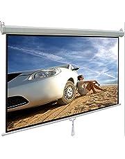شاشة عرض للحائط مقاس 180×180سم