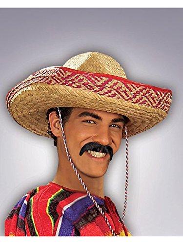 Black Pancho Moustache