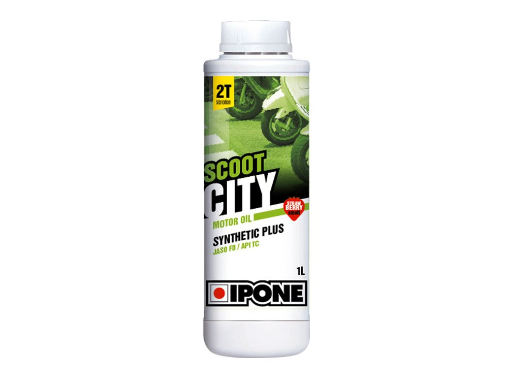 2-Takt-Motorö l Ipone Scoot City –  Duft Erdbeere –  1 Liter