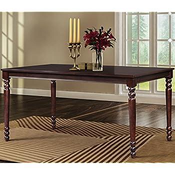 Merax Wood Dining Table Rectangular Room Espresso