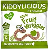 Kiddylicious Apple Wriggles 12g, (Pack of 18)