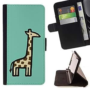 - Wisedeal Retro Stripe Flower - - Prima caja de la PU billetera de cuero con ranuras para tarjetas, efectivo Compartimiento desmontable y correa para la mu?eca FOR Apple iPhone 6 6S 4.7 King case