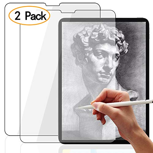 iPad Mini 5 Paperlike Screen Protector, [2 Pack] New IPad Mini 2019 7.9 Inch 2/3/4 Matte Anti Glare Screen Protector Film, Paper Texture Feeling for Writing Drawing, [Support with Apple Pencil] ()