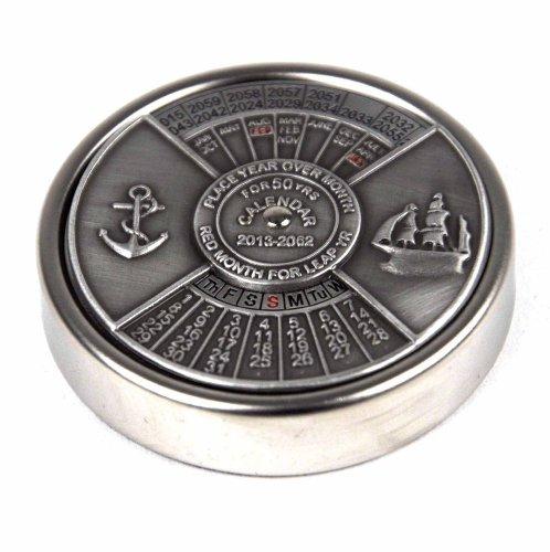Nauticalia 50 Year Calendar Paperweight