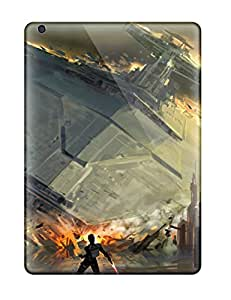 Ultra Slim Fit Hard JoeDeesAnde Case Cover Specially Made For Ipad Air- Artistic Swtfu Star Destroyer Force Pull