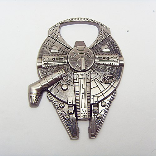 Star Wars Millenium Falcon Metal Bottle Opener Zinc Alloy - Non-magnetic Opener 2.4