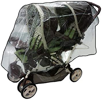 Amazon.com : Sashas Rain and Wind Cover for Combi Tandem Stroller ...