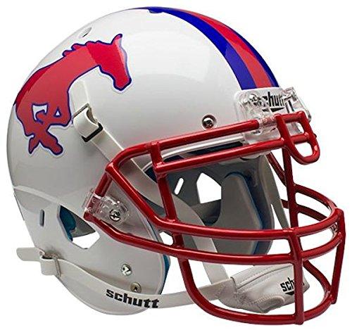 (Schutt NCAA SMU Mustangs Authentic XP Full Size Helmet)