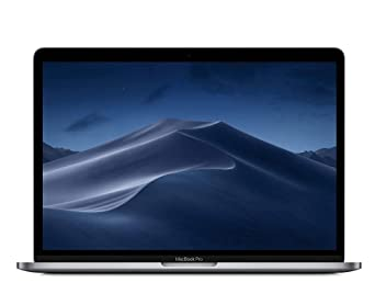 Apple MacBook Pro (13-inch Retina, Touch Bar, 2.3GHz Quad-Core Intel Core i5, 8GB RAM, 512GB SSD) - Space Gray at amazon