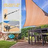 EVERSEE Sun Shade Sail Hardware Kit 5 inch 304