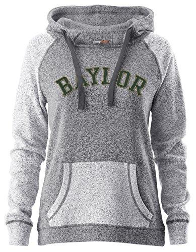 NCAA Horizon Damen Rückseite Sleeve und Pocket Kapuze, Damen, Horizon, Pepper/Charcoal, Medium