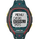 Timex TW5M00700 Ironman 150-Lap Full Size Sleek Blue Resin Strap Chronograph Watch
