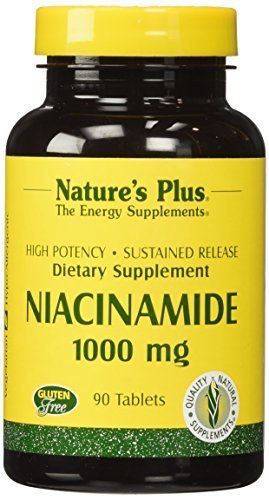 Nature's Plus - Niacinamide 1000mg Time Release Sustained Tablet (4-Pack of 90) by Nature's Plus