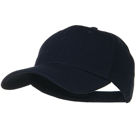 a4524167a29d9 Image Unavailable. Image not available for. Color  Superior Cotton Twill Low  Profile Strap Cap - Navy Blue
