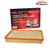 2013 dodge ram 1500 engine filter - POTAUTO MAP 6016 Engine Air Guard Filter Replacement for DODGE, RAM