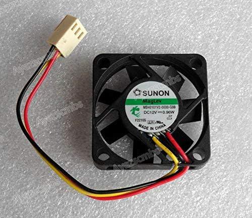 Ayazscmbs Enfriador Ventilador Compatibles para Sunon 40mm x 10mm ...