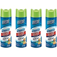 Woolite Heavy Traffic Carpet Foam + Protection Cleaner, 22 fl oz (Pack of 4)