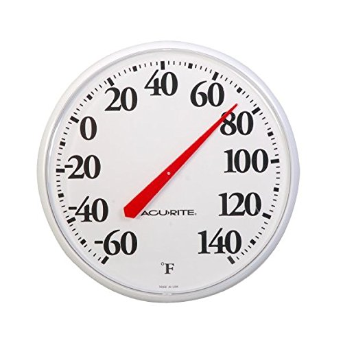 Outdoor Pool Therometer 12 in. Face