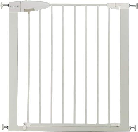 Munchkin Easy Loc - Barrera de seguridad, color blanco: Amazon.es: Bebé