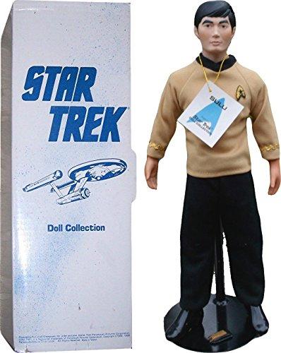 (Vintage 1988 Hamilton Collection Star Trek Doll Collection Sulu 14-Inch Porcelain Doll)
