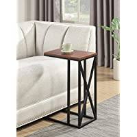 Convenience Concepts Tucson C End Table, Cherry / Black