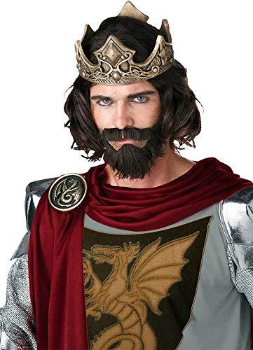 (Adult Men Medieval King Wig)