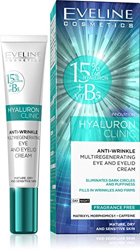 Biohyaluron 4d Concentrated Illuminating Eye Cream +Spf 8 from Eveline Cosmetics