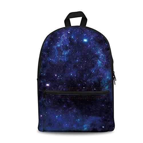 Mochila de diseño de moda para niños de vuelta a la escuela, bolsa de lona para libros, Sky,...