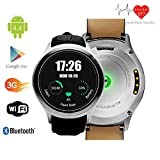 Indigi 3G Smartwatch Phone (Factory Unlocked) Android 4.4 WiFi GPS Google Maps Smart Watches Unlocked Smartphone