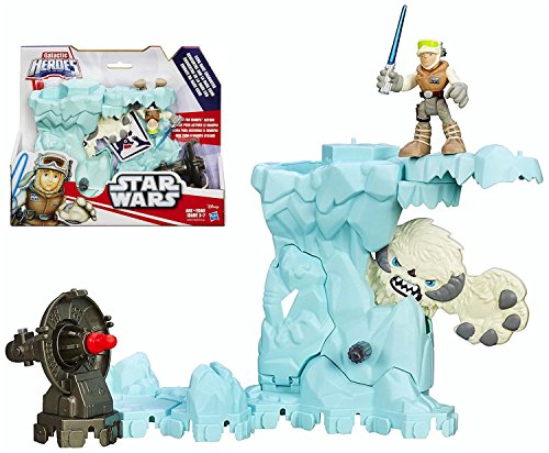 "Star Wars Playskool Galactic Heroes Luke & Echo Base Encounter Figures ""IN STOCK"""