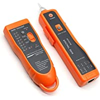 USUN XQ-350 Handheld RJ11 RJ45 Telephone Wire Tracker Network Cable Tester LAN Cable RJ Tracker Toner Tracer Tester by USUN