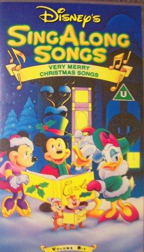 Disney's Sing Along Songs: Very Merry Christmas Songs VHS - Volume Six