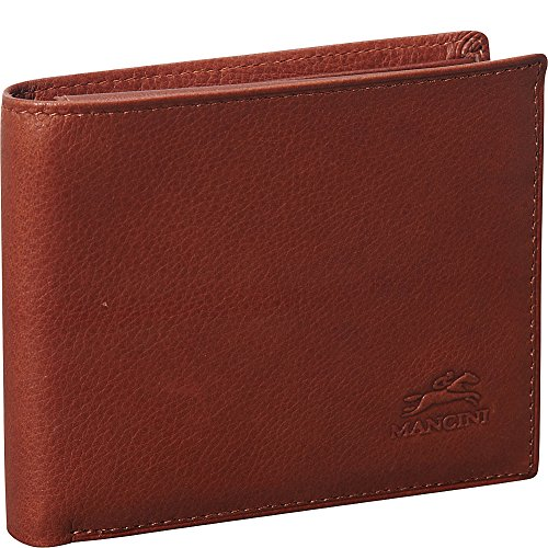 mancini-leather-goods-san-diego-collection-mens-left-wing-wallet-cognac