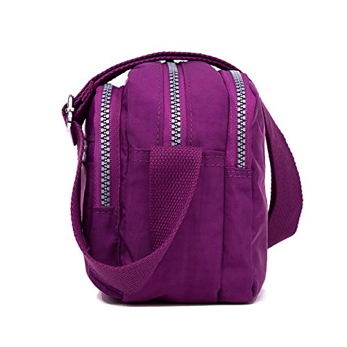 SY02 navy 12 Messenger BUY SUNRAY Navy Borsa Purple Uomo 761qYw