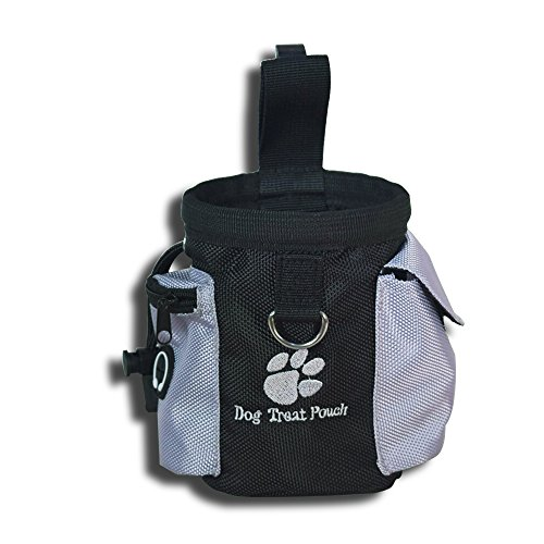 eBasics Puppy Dog Treat Pouch for Training Dog Reward Pouch Snack Bag Bait Bag Dog Treat Carrier Holder