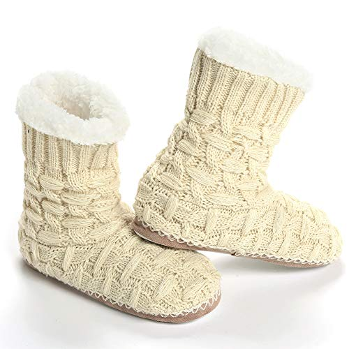 Calze Pantofola Knitted A blanc Casse Maamgic Donna Pattern RqETEd