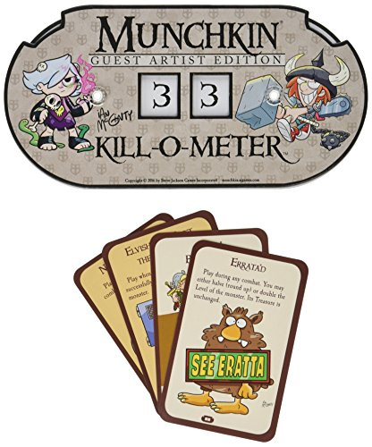 Munchkin Kill-O-Meter Guest Artist Edition Card Game