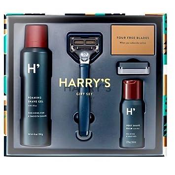 Amazon.com: Harry's Razors Gift Set + FREE travel size Shampoo + ...