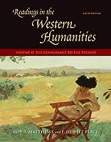 Readings in the Western Humanities, Volume 2