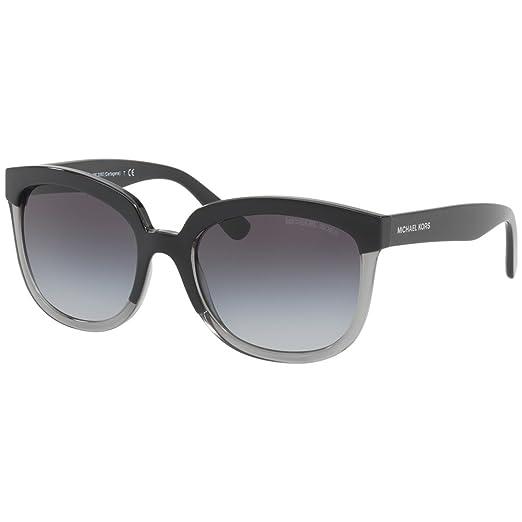 f392e9d88e Michael Kors Womens Palma 0MK2060 55mm Black Grey Gradient One Size