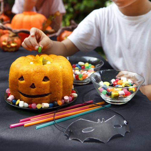 Lekue Pumpkin 3D Mold, Orange by Lekue (Image #4)'