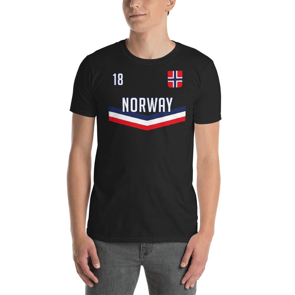 Womens Scandinavian Tee Up Wits Creek Novelty T Shirts Norway Football Gift Mens T-Shirt Norwegian Soccer Cup Jersey