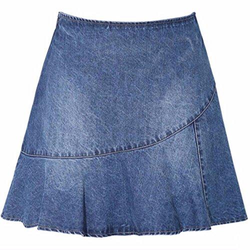 Jupe Mot La Taille Cow Un Boy Blue Robe Petite QPSSP Robe Haute WqUFOC0xx6