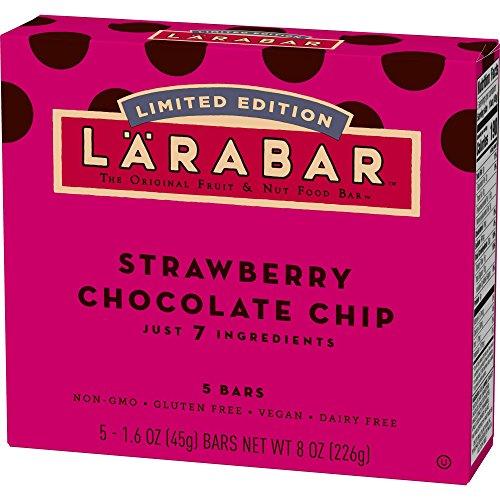 Larabar Strawberry Chocolate Chip The Original Fruit & Nut Food Bars 8oz, pack of 1