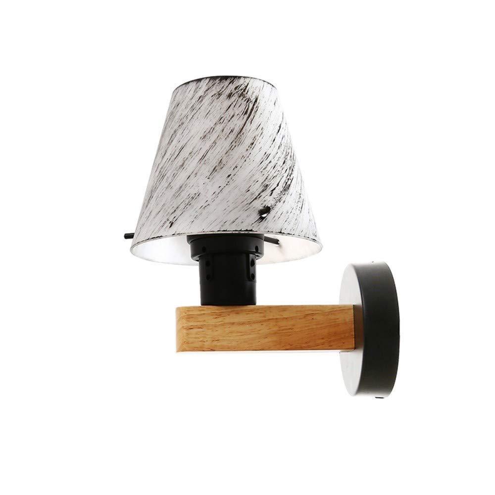 Kronleuchter LED Wandlampe Kreative Holzwandlampe Nachtlicht Nordic Lampe Home E27