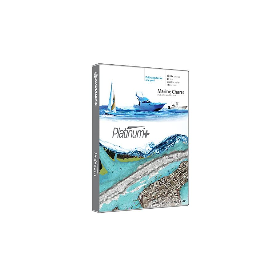 Navionics Platinum+ SD 651 Central Gulf Mexico Nautical Chart on SD/Micro SD Card MSD/651P+