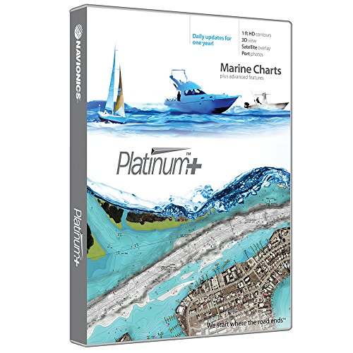 Navionics Platinum Plus 674P+ Boston to New York Marine Charts on SD/MSD