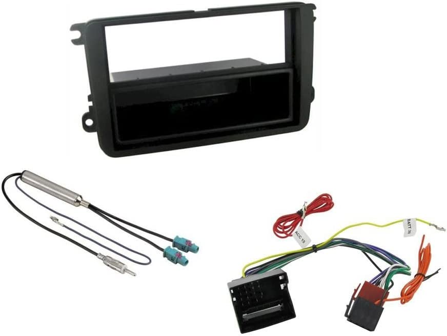Amazon.com: Single Din Fitting Kit Fascia Car Stereo Installation Kit for  VW Jetta 2004 - OnwardsAmazon.com